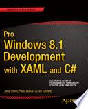 Pro Windows 8 1 Development with XAML and C
