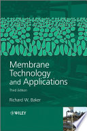 Membrane Technology and Applications