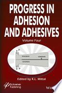 Progress in Adhesion and Adhesives Book