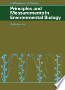 Principles and Measurements in Environmental Biology