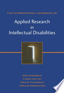 International Handbook of Applied Research in Intellectual Disabilities