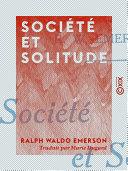 Société et Solitude Pdf/ePub eBook