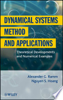 Dynamical Systems Method and Applications Book