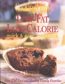 Low fat  Low calorie Quick   Easy Cookbook