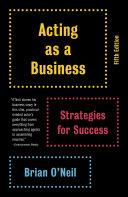 Acting as a Business Pdf/ePub eBook