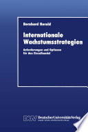 Internationale Wachstumsstrategien