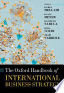 The Oxford Handbook Of International Business Strategy