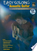 Easy Soloing For Acoustic Guitar Book