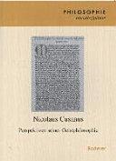 Nicolaus Cusanus  Perspektiven seiner Geistphilosophie
