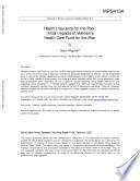 Health Insurance For The Poor