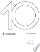 Annual Report National Endowment For The Humanities