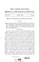 Northwestern Medical and Surgical Journal