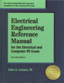 Electrical Engineering Reference Manual for the Electrical and Computer PE Exam Book