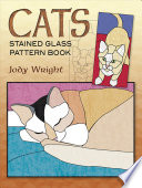 Cats Stained Glass Pattern Book