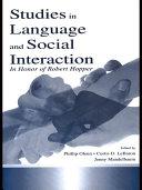 Studies in Language and Social Interaction Pdf/ePub eBook