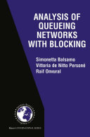 Analysis of Queueing Networks with Blocking ebook