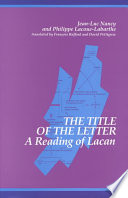 The Title of the Letter