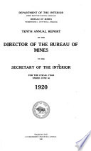 Annual Report Of The Director