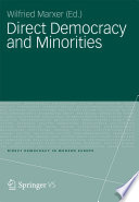 Direct Democracy And Minorities Book