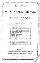 Wonderful Things  , Ausgaben 1-14