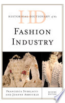 Cover of Historical dictionary of the fashion industry