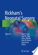 Rickham s Neonatal Surgery