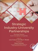 Strategic Industry University Partnerships Book