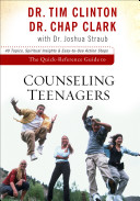 Cover of The Quick-Reference Guide to Counseling Teenagers