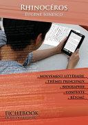 Pdf Fiche de lecture Rhinocéros (résumé détaillé et analyse littéraire de référence) Telecharger