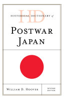 Historical Dictionary of Postwar Japan Pdf/ePub eBook