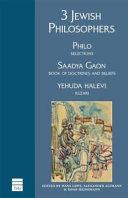3 Jewish Philosophers