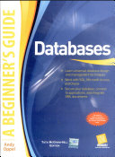 Databases  A Beginner S Gd