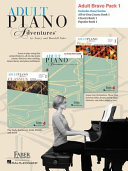 Adult Piano Adventures Level 1 Bravo Pack