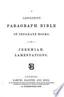 A large-print paragraph Bible
