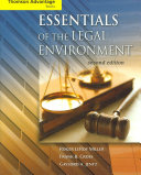 Cengage Advantage Books Essentials Of The Legal Environment Book
