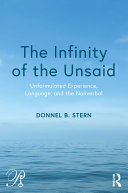 The Infinity of the Unsaid [Pdf/ePub] eBook