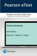 Pearson Etext Human Anatomy Access Card