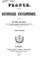 France Dictionnaire Encyclopedique