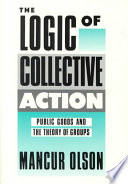 The Logic of Collective Action Book