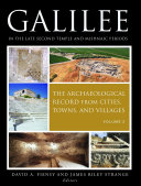 Galilee in the Late Second Temple and Mishnaic Periods, Volume 2 Book