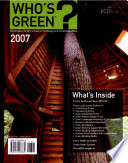 Who s Green 2007 Book