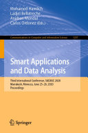 Pdf Smart Applications and Data Analysis Telecharger