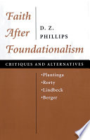 Faith After Foundationalism