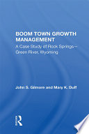 Boom Town Growth Management Book PDF
