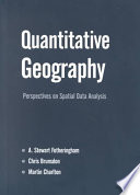 Quantitative Geography Book PDF