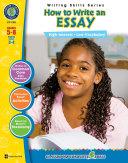 How to Write an Essay Gr  5 8