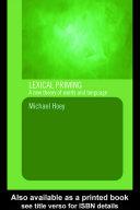 Lexical Priming Pdf/ePub eBook