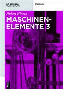 Maschinenelemente 3