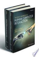 The Wiley Handbook of Human Computer Interaction Set