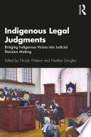 Indigenous Legal Judgments